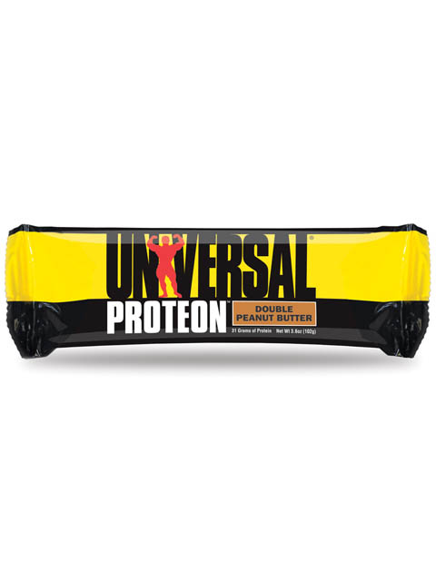 UNIVERSAL-Proteon Bar Chocolate Double Peanut Butter caja